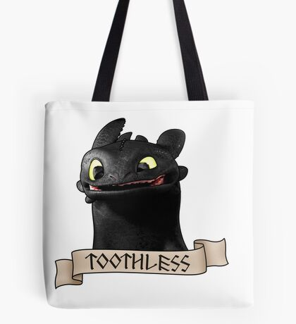 Toothless Smile Tote Bag