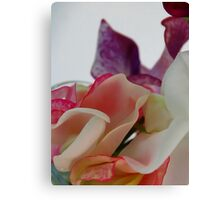 Will you be my Sweet Pea Canvas Print