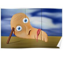 SURREALISM - The Melting Face Poster