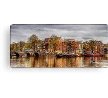 Amstel River Canvas Print