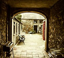 Medieval Archway in Irish Village by Chris Hood