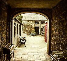 Medieval Archway in Irish Village by Chris Hood