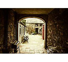 Medieval Archway in Irish Village Photographic Print