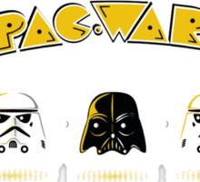 Pac wars Sticker