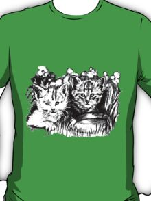 Baby Cats in the Garden T-Shirt