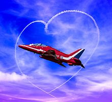 Red Arrows Love by Paul Madden