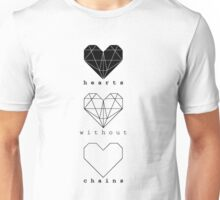 Hearts without chains Unisex T-Shirt