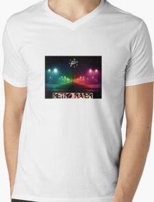 Retro Raver Mens V-Neck T-Shirt