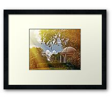 A Quite Moment in Time Framed Print