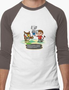 Collection Complete - Animal Crossing Men's Baseball ¾ T-Shirt