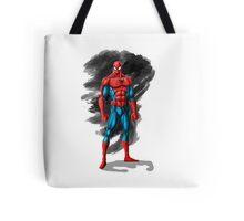 spiderman design t-shirt Tote Bag
