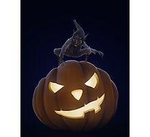 Halloween creepy night Photographic Print