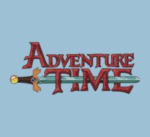 Adventure Time Logo by StraightEK