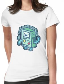 BMO From Adventure Time! Womens Fitted T-Shirt