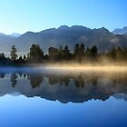 Lake Matheson New Zealand by Angelika  Vogel
