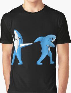 Super Bowl Sharks Graphic T-Shirt