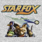 Star Fox Vintage Video Game by Nasherr