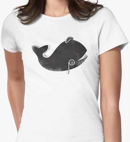 Whalington Icon Tee Womens Fitted T-Shirt