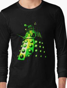 Dalek Gamma – Green/Yellow Long Sleeve T-Shirt