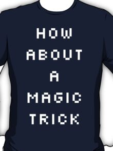 Shaco Champion Select Quote White Text T-Shirt