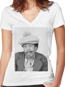 Superbad - Richard Pryor Women's Fitted V-Neck T-Shirt