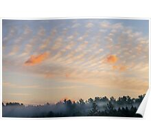 maine sunrise Poster