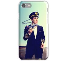 Captain Crieff and Toy Plane iPhone Case/Skin