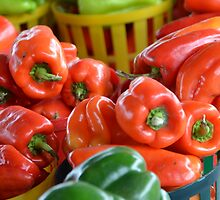 Peppers by Victor Barrera