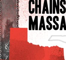 The Texas chainsaw massacre Sticker