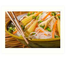 Chinese Dinner Art Print