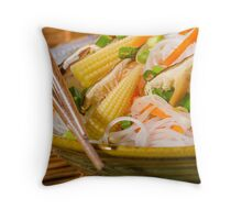 Chinese Dinner Throw Pillow