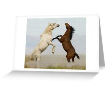 Outmatched Greeting Card