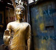 buddha alley by Mikka
