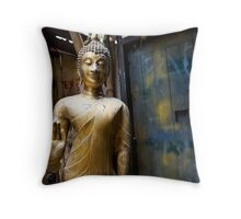 buddha alley Throw Pillow
