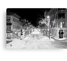 State Street Madison Canvas Print