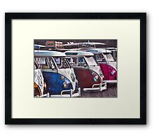 End of the Line Framed Print