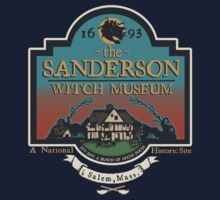 The Sanderson Witch Museum (Colorized) by DCVisualArts