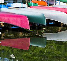 canoes by Steven Ralser