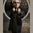 Sherlock Holmes ART NOUVEAU by koroa