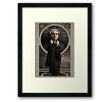 Sherlock Holmes ART NOUVEAU Framed Print