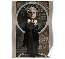 Sherlock Holmes ART NOUVEAU Poster