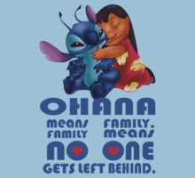 Lilo and Stitch - Ohana by SerginhoFilho