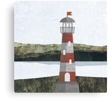 Daytime Lighthouse Canvas Print