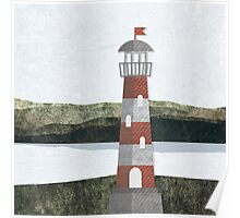 Daytime Lighthouse Poster
