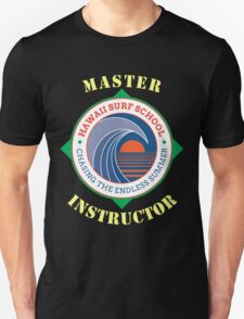 Hawaiian Surfing School Instructor T-Shirt