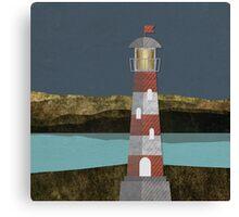 Nighttime Lighthouse Canvas Print