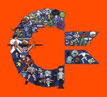 C64 Characters Kids Tee