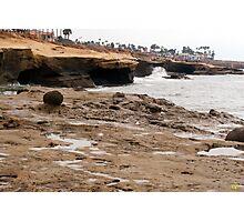 Sunset Cliffs Shoreline 1 Photographic Print