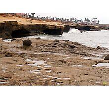 Sunset Cliffs Shoreline 2 Photographic Print