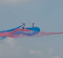 Red arrow display team by sandyprints